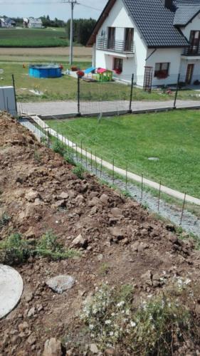 Przygotowanie pod ogrodzenie Kraków